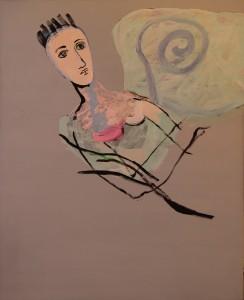 "Johanne Marie Hansen-Krone, ""Fortelling rundt blå spiral"""