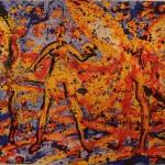 """Frans Widerberg, """"Skapelsens hage"""", 14 000,-"""