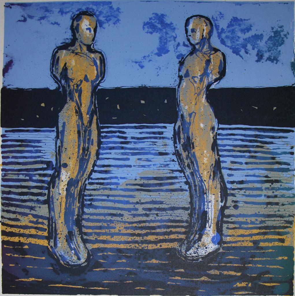 Skip II, litografi fra 2016, 2 800,-