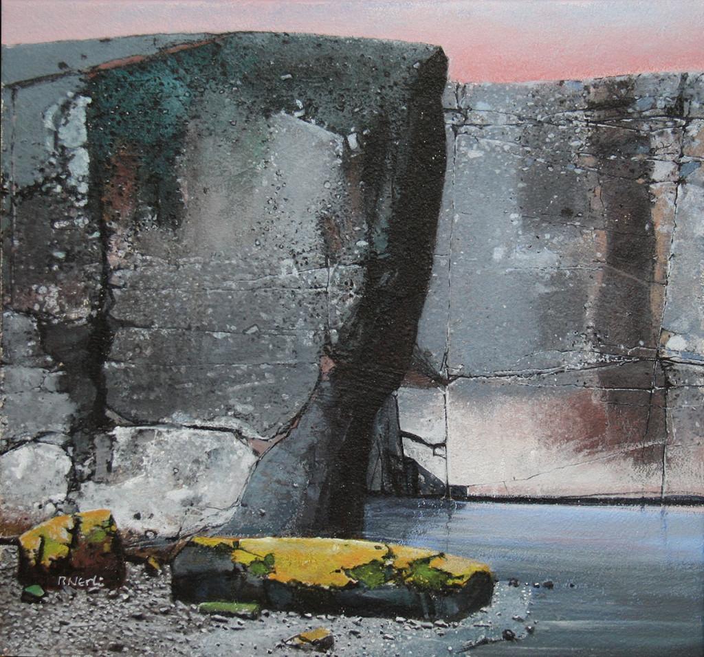 Morgenrøden, maleri fra 2015