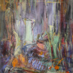 """Svein Johansen, """"Nature morte med grønn kanne"""" 98x78 cm, 34 000,-"""