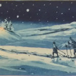 "Kristian Finborud ""Hytta lyser i vinternatta"""
