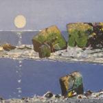 """Rolf Nerli """"Månen henger"""" hos Gallei Hanne"""