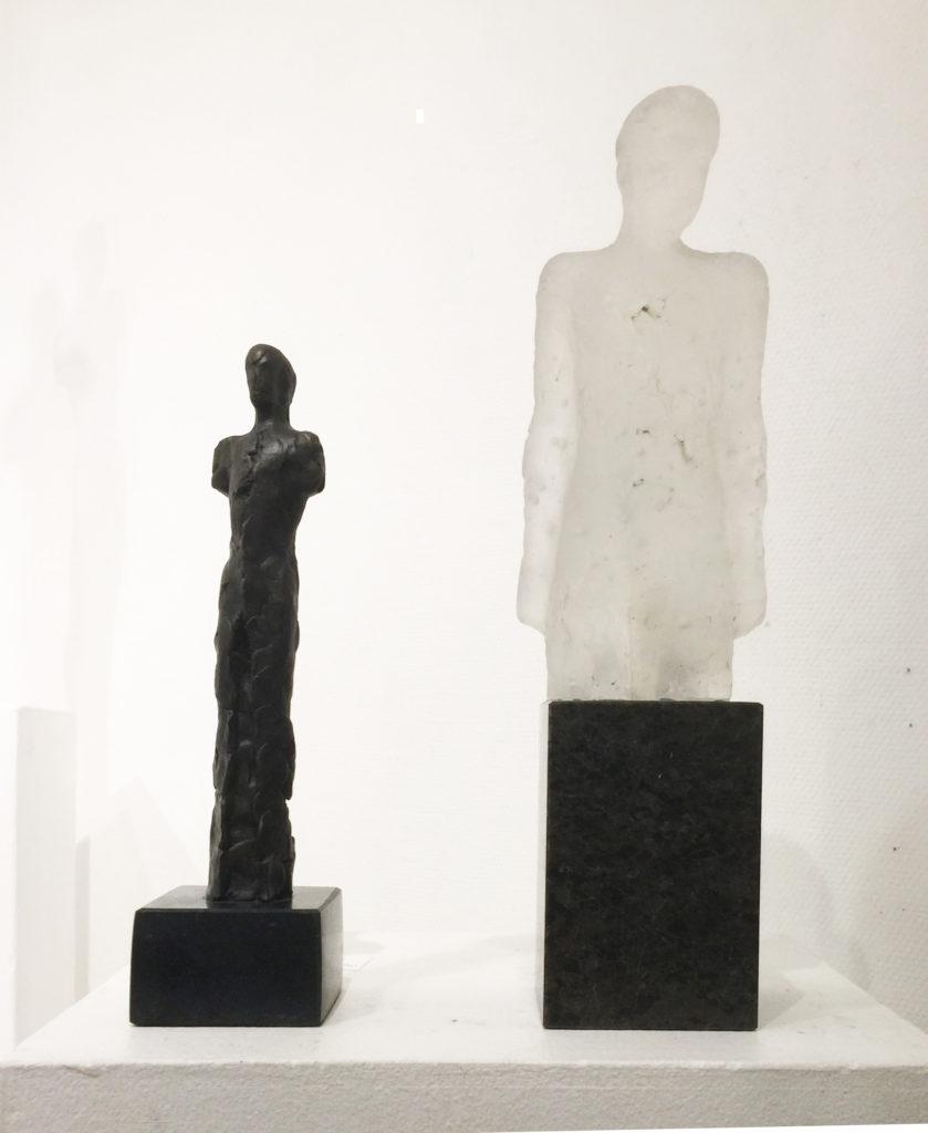 Nico Widerberg, skulpturer hos Galleri Hanne