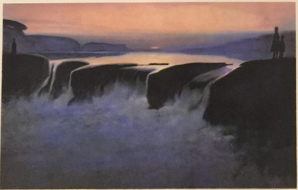 Yngve Reidar Vold original litografi